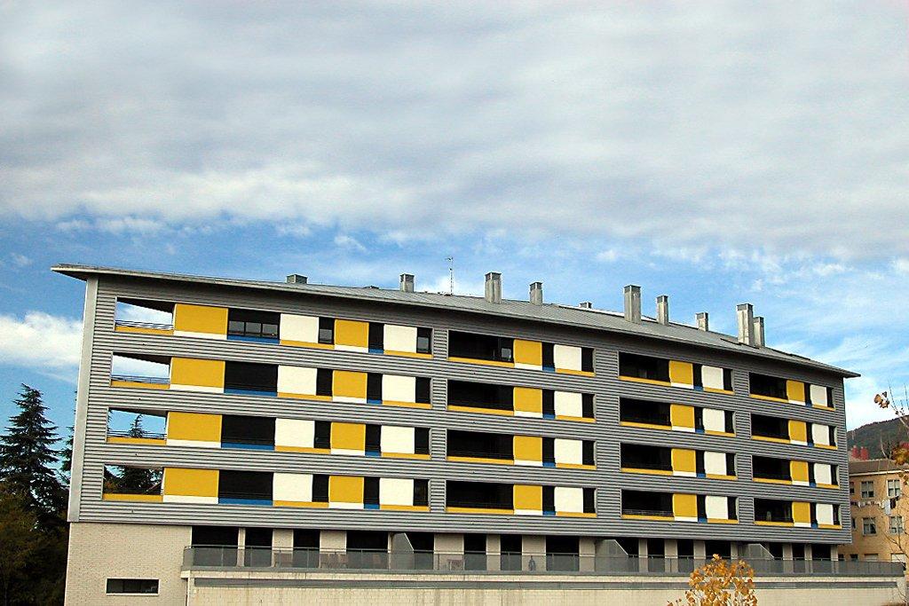 Edificio Ópalo en Jaca, Huesca.