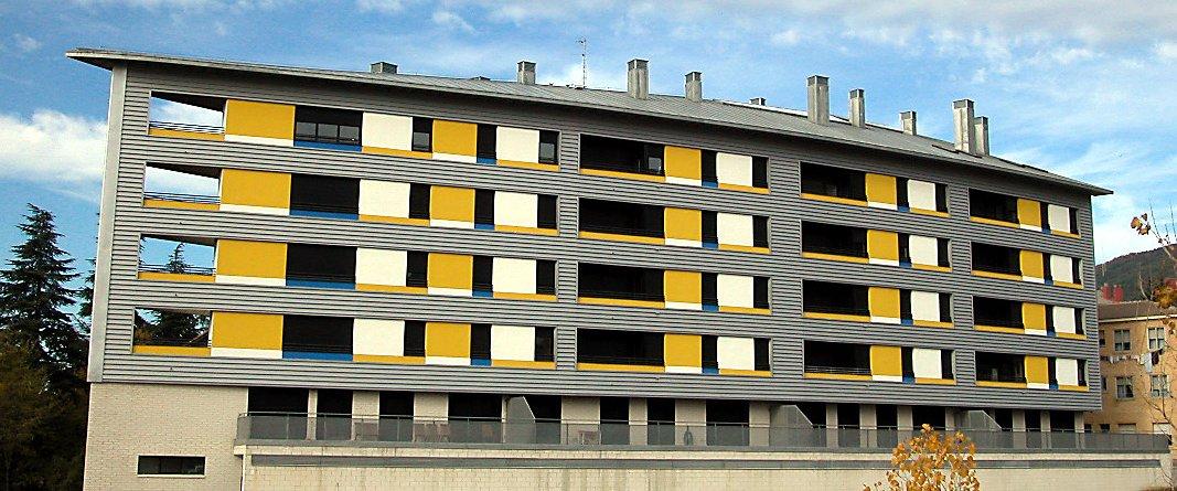 Edificio Ópalo en Jaca, Huesca. Imagen 2.