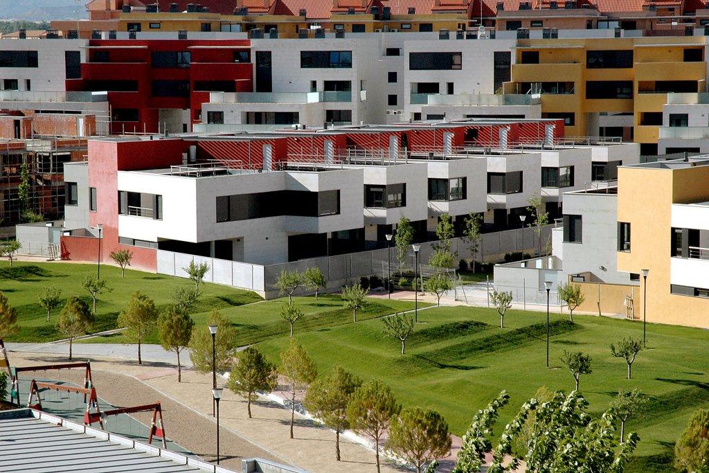 Urbanización Padre Querbes, Huesca. Vista general.